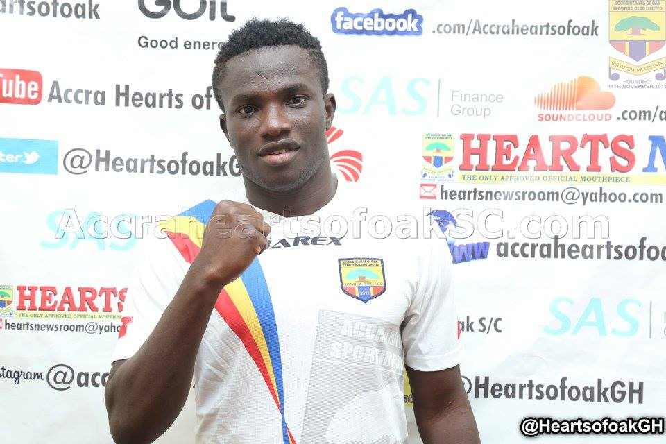 Hearts defender Christopher Bonney sparks age-cheating row after being named in Ghana's U23 squad