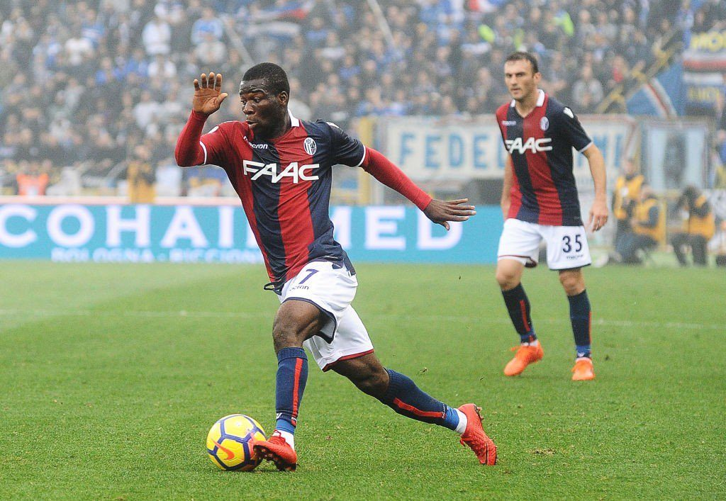 Ghanaian midfielder set to join Belgian side Cercle Brugge from Bologna