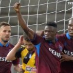 Video: Watch Ghana striker Caleb Ekuban scoring hat-trick for Trabzonspor in Europa League