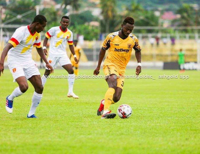 CAF Cofed Cup: Ashantigold defender Eric Donkor confident of victory ahead of Akonangui FC clash