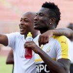 Ghana striker Asamoah hails Andre Ayew's leadership qualities