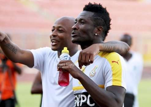 Ghana striker Asamoah hails Andre Ayew's leadership qualities