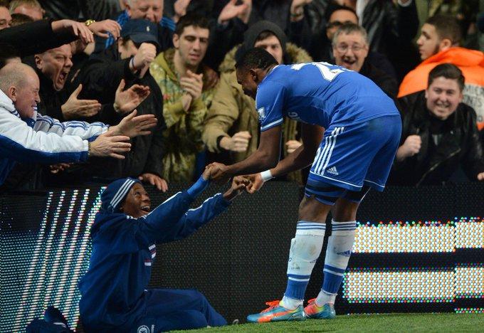 Hudson-Odoi recounts special moment Eto'o celebrated a goal with him as a ball boy