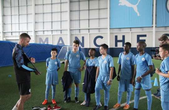 QNET sponsors young African footballers to Manchester City Football Academy