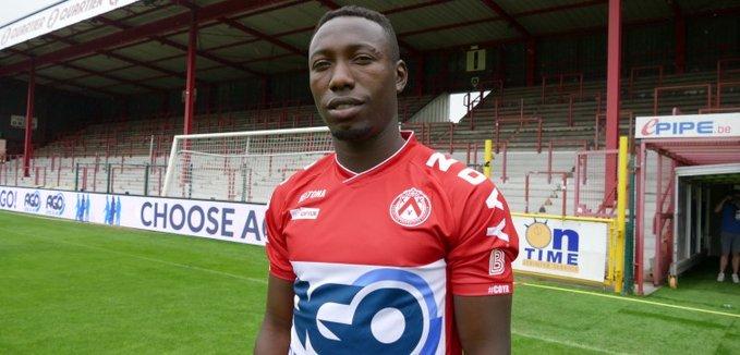 Video: Ghanaian winger Eric Ocansey's header named among five finest goals in Belgium
