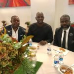 CAF Deputy Gen Sec Anthony Baffoe and PFAG gurus attend Junior Agogo's funeral