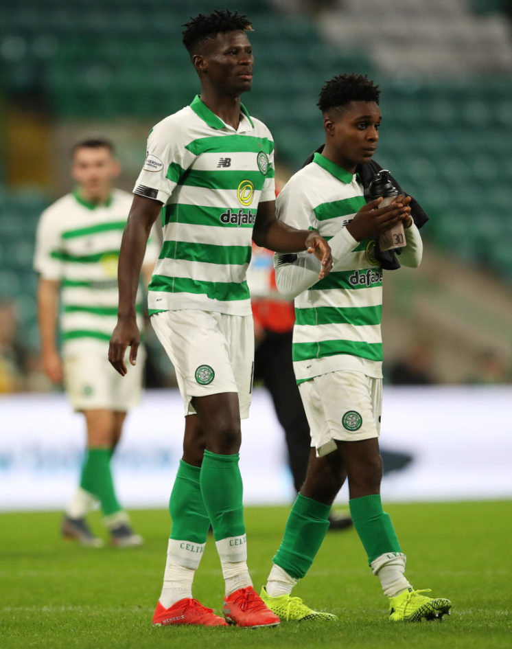 Celtic defender Jeremie Frimpong grateful to manager Neil Lennon after excelling on debut