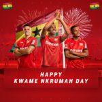 Bundesliga side Bayer Leverkusen join Ghanaians to mark Kwame Nkrumah Memorial Day