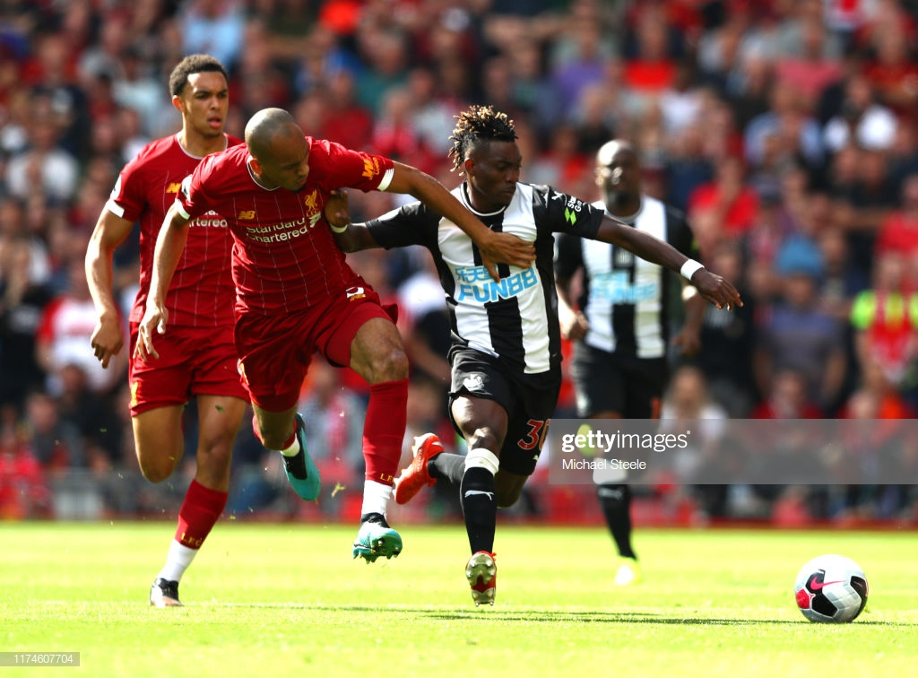 Christian Atsu issues apology to Newcastle United fans after mistake in Liverpool loss