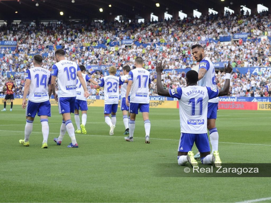 Raphael Dwamena on target again as Real Zaragoza inflict defeat on Extremadura