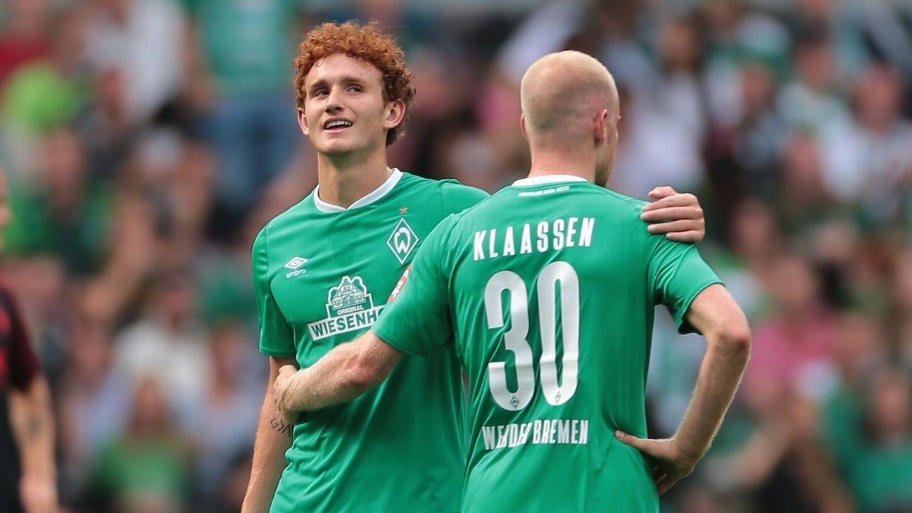 U.S.'s Sargent scores stunner in Bremen win