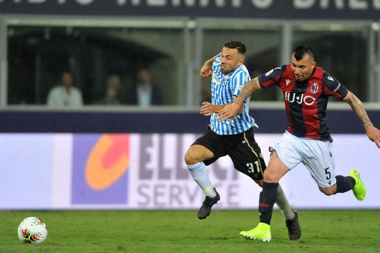 BOLOGNA: GARY MEDEL'S OFFICIAL PRESENTATION AT 13:00 CEST