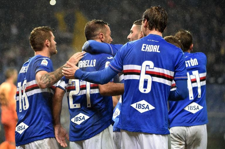 SAMPDORIA: TRAINING REPORT
