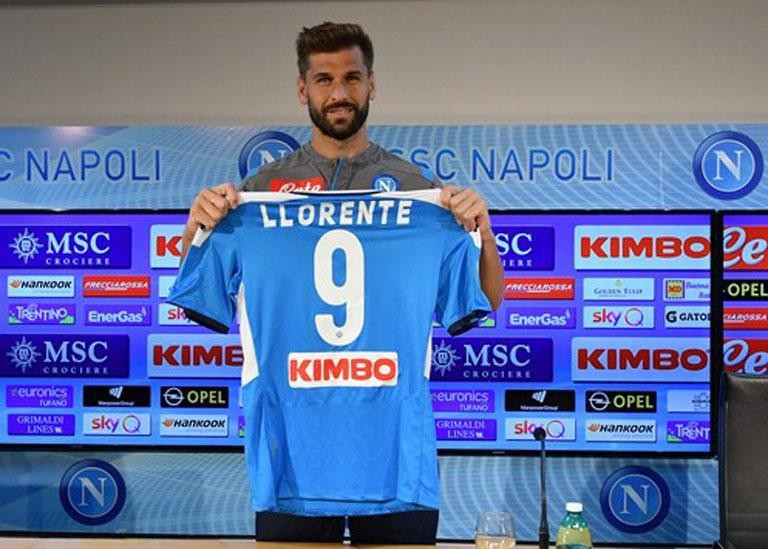 "LLORENTE: ""LOVE AT FIRST SIGHT WITH THE CITY AND PEOPLE OF NAPLES"""