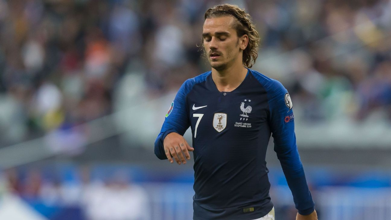 Griezmann pro stopping matches for anti-gay abuse