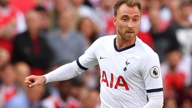 Christian Eriksen 'always happy' at Tottenham, says Spurs boss Mauricio Pochettino