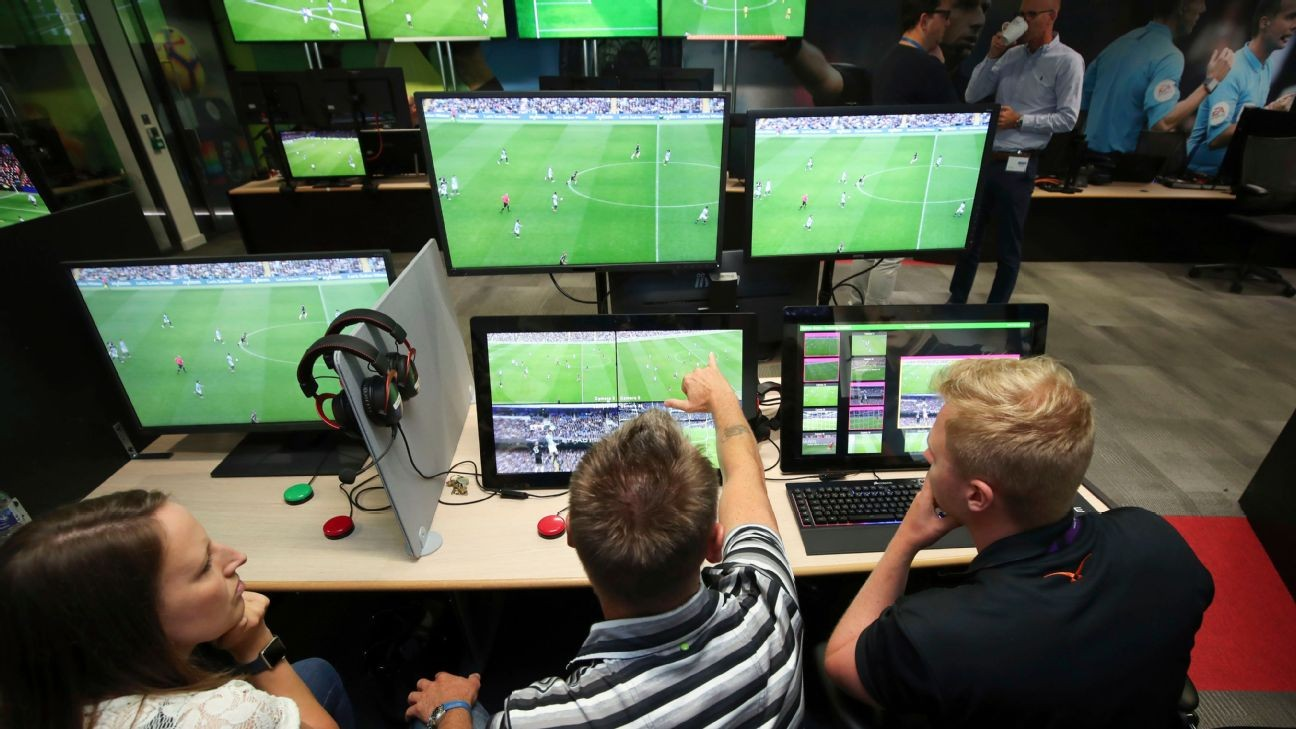 Prem refs' chief admits to four big errors by VAR