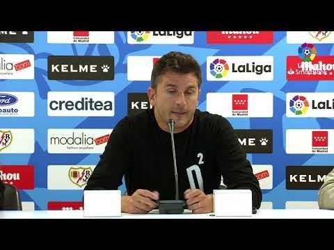 Rueda de prensa de  Iván Ania tras el Rayo Vallecano vs Real Racing Club (2-0)