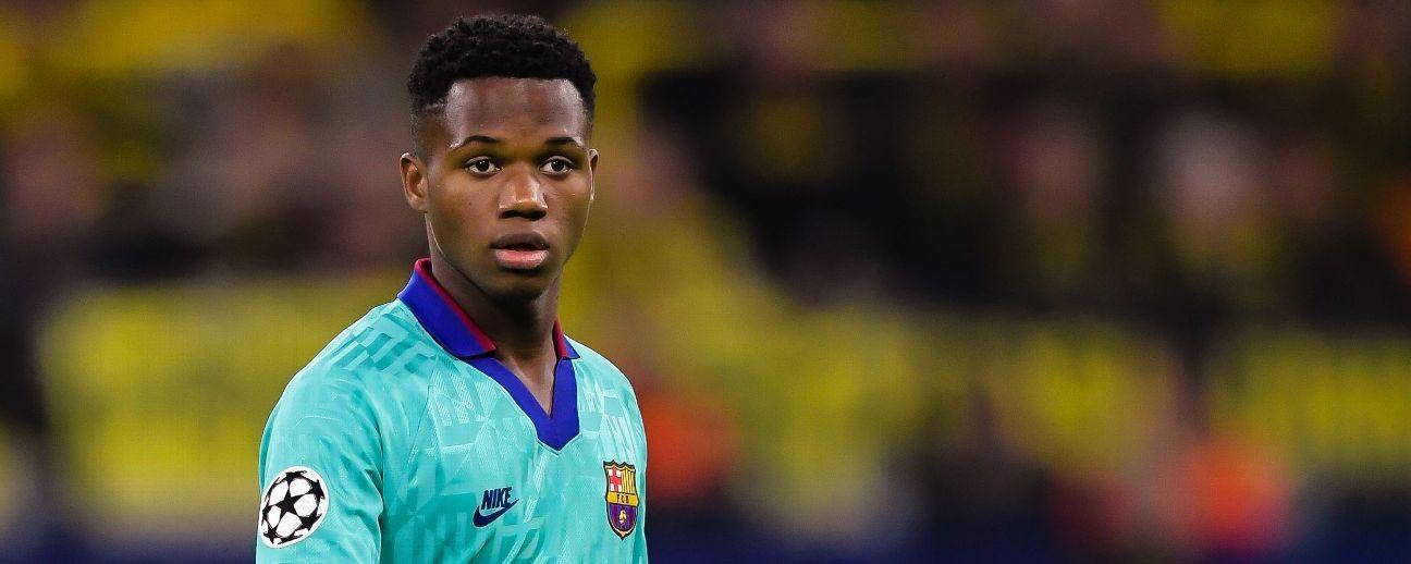 'Setback' if Fati gets Spain call-up - Barca boss