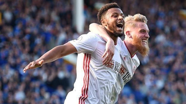 Everton 0-2 Sheffield United: Blades hold firm to stun Toffees