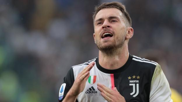 Juventus 2-1 Hellas Verona: Wales midfielder Aaron Ramsey scores on Serie A debut