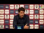 Rueda de prensa de  Víctor Sánchez del Amo tras el Albacete BP vs Málaga CF (1-0)
