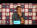 Rueda de prensa de  Ramis tras el Albacete BP vs Málaga CF (1-0)