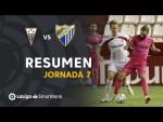 Resumen de Albacete BP vs Málaga CF (1-0)