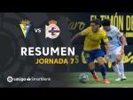 Resumen de Cádiz CF vs RC Deportivo (0-0)