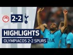 CHAMPIONS LEAGUE HIGHLIGHTS | OLYMPIACOS 2-2 SPURS | Lucas Moura's thunderbolt!