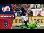 New England Revolution vs. Real Salt Lake | Who will seal playoff spot?  | HIGHLIGHTS