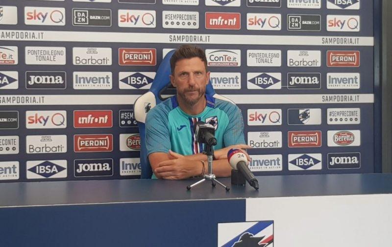Di Francesco: The win over Torino is a starting point for Sampdoria