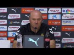 Rueda de prensa de Pepe Mel tras el Girona FC vs UD Las Palmas (1-0)