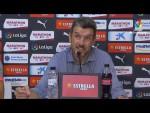 Rueda de prensa de Juan Carlos Unzué tras el Girona FC vs UD Las Palmas (1-0)