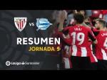 Resumen de Athletic Club vs Deportivo Alavés (2-0)
