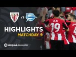 Highlights Athletic Club vs Deportivo Alavés (2-0)
