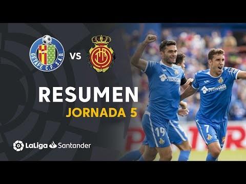 Resumen de Getafe CF vs RCD Mallorca (4-2)