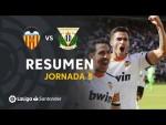 Resumen de Valencia CF vs CD Leganés (1-1)