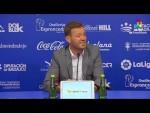Rueda de prensa de Manuel Mosquera tras el Extremadura UD vs SD Huesca (0-1)