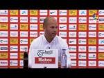 Rueda de prensa de José Alberto López tras el Real Sporting vs Real Racing Club (1-1)