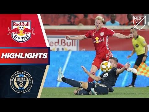 New York Red Bulls vs. Philadelphia Union | A 96th Minute Goal! | HIGHLIGHTS