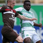 Greuther Fürth midfielder Hans Sarpei insists playing against VfL Stuttgart is nothing special