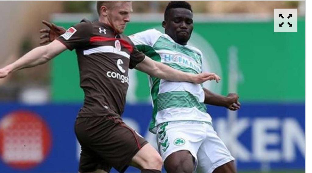 Greuther Fürth midfielder Hans Sarpei insists playing against VfL Stuttgart is nothing special