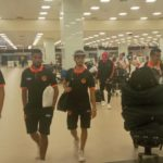 PHOTOS: Moroccan side RS Berkane arrive in Ghana ahead of AshantiGold clash