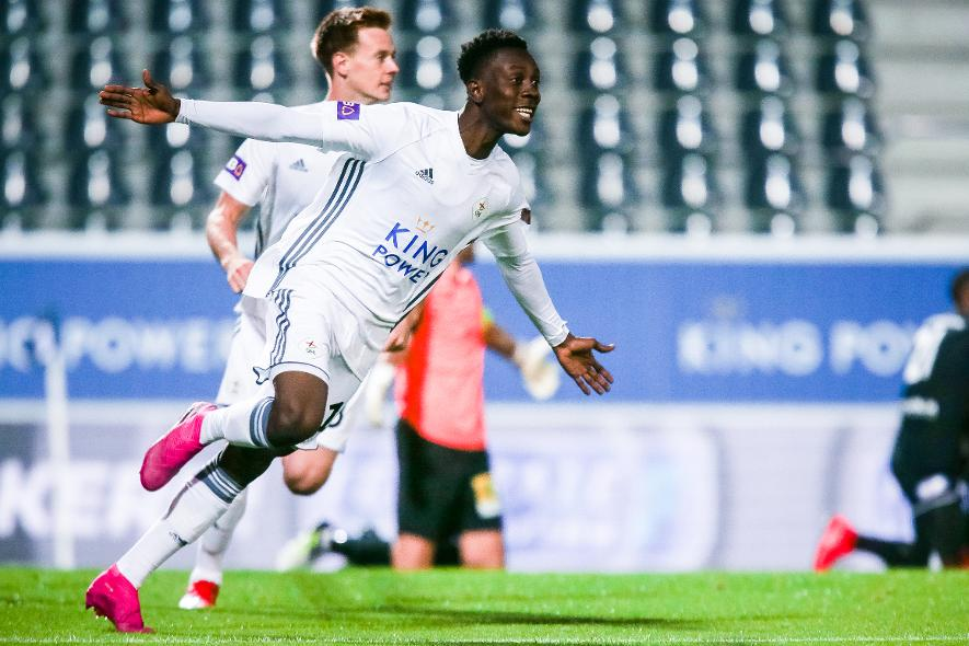 Ghana's Kamal Sowah scores to rescue point for OH Leuven against KSV Roeselare