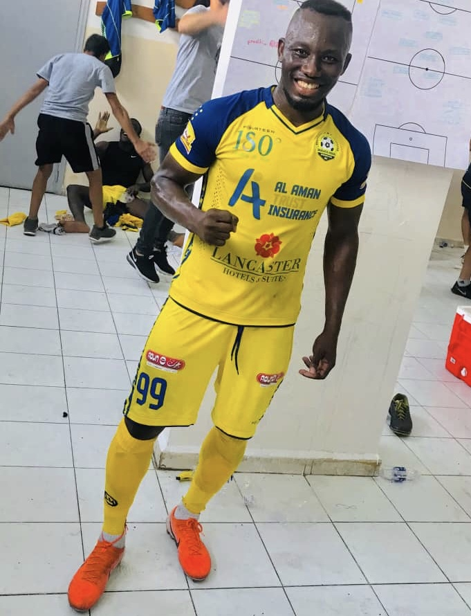 Ex-AshGold striker Sadick Adams signs for Shabab El-Bourj in Lebanon