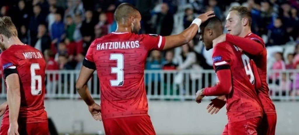 VIDEO: In-form Myron Boadu scores to salvage point for AZ Alkmaar against Partizan Belgrade in Europa League