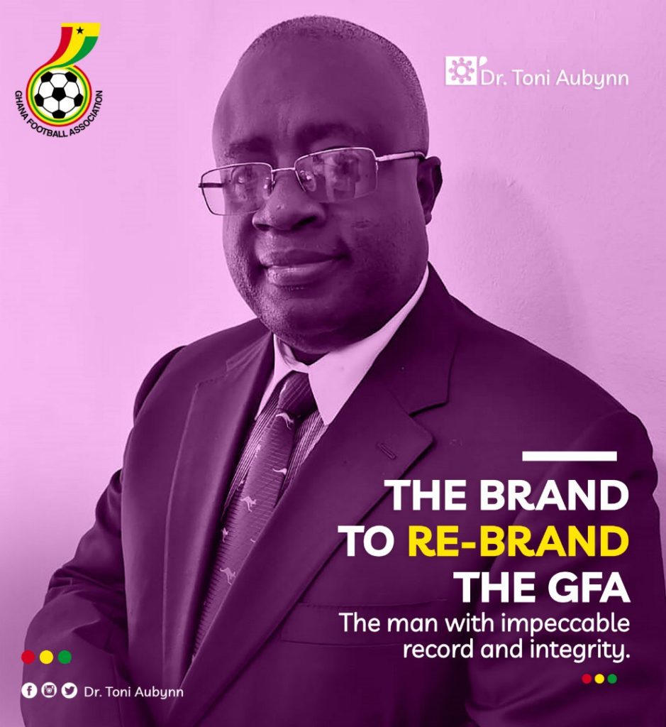The new face of Ghana football - Dr Toni Aubynn