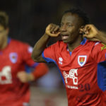 Yaw Yeboah scores in Celta Vigo's 4-2 win over Melila