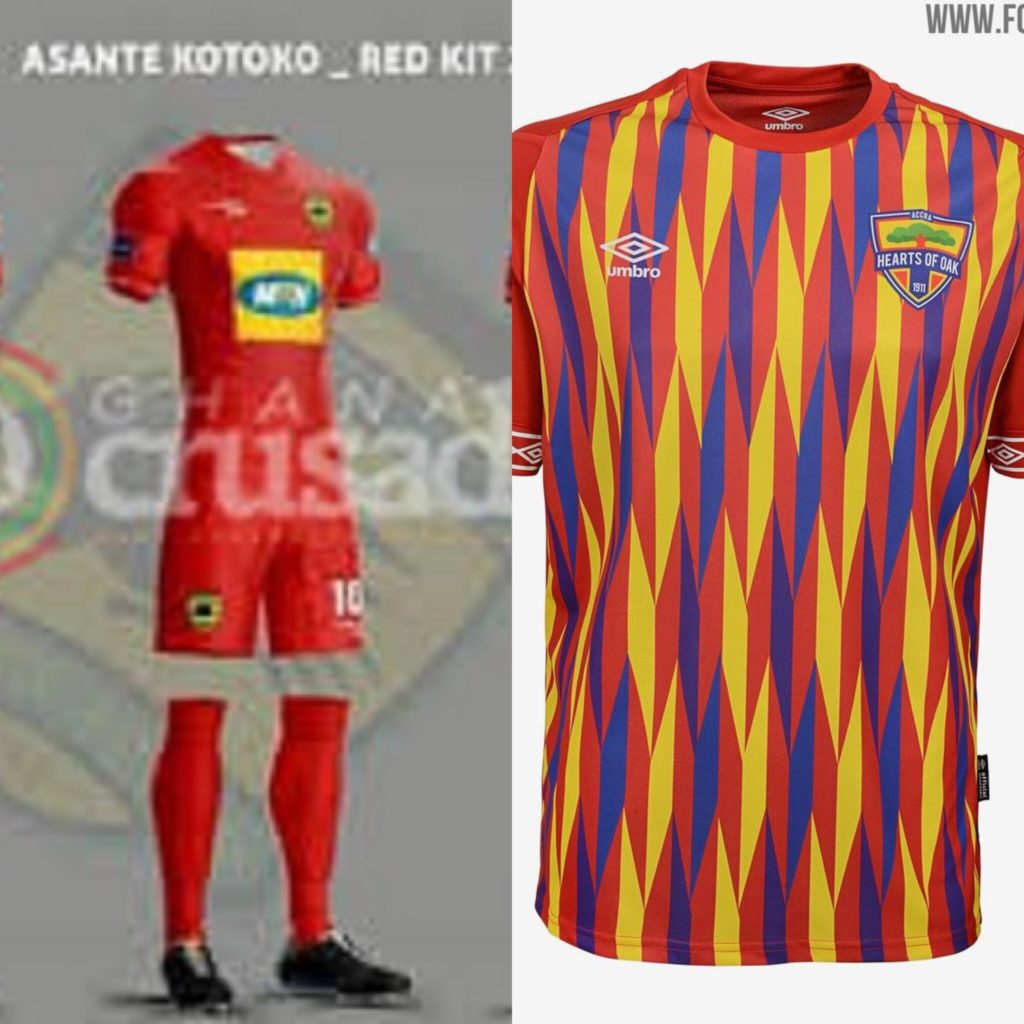 Asante Kotoko, Hearts to battle for President Cup as    Fans also battle on  Umbro , Strike kits